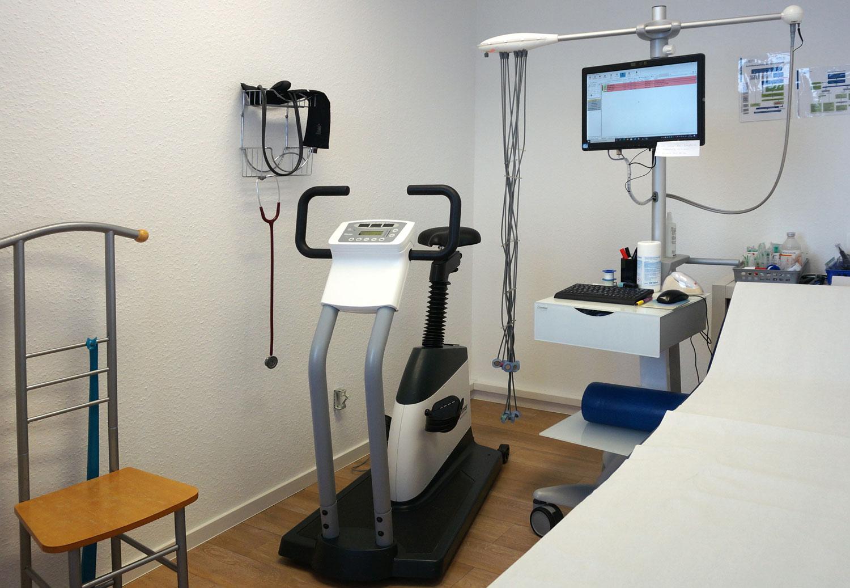 Praxisfoto Kardioraum
